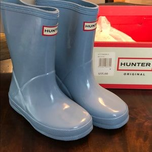 Never been worn Kids Hunter Boots